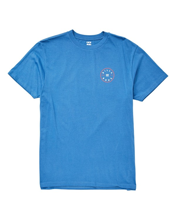 0 Rotor T-Shirt Blue M404UBRO Billabong
