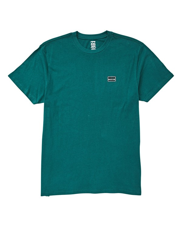 0 Slashed T-Shirt Green M404UBSL Billabong
