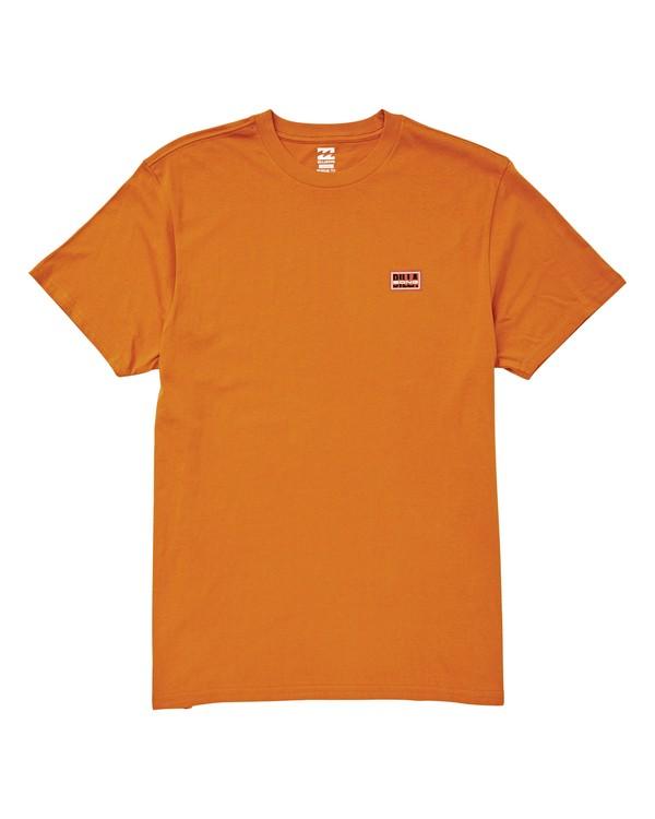 0 Slashed T-Shirt Orange M404UBSL Billabong