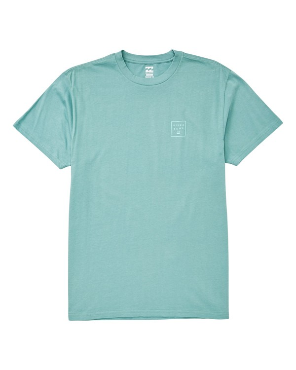0 Stacked T-Shirt Green M404UBST Billabong