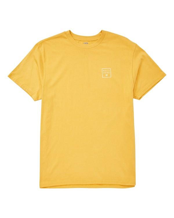 0 Stacked T-Shirt Grey M404UBST Billabong