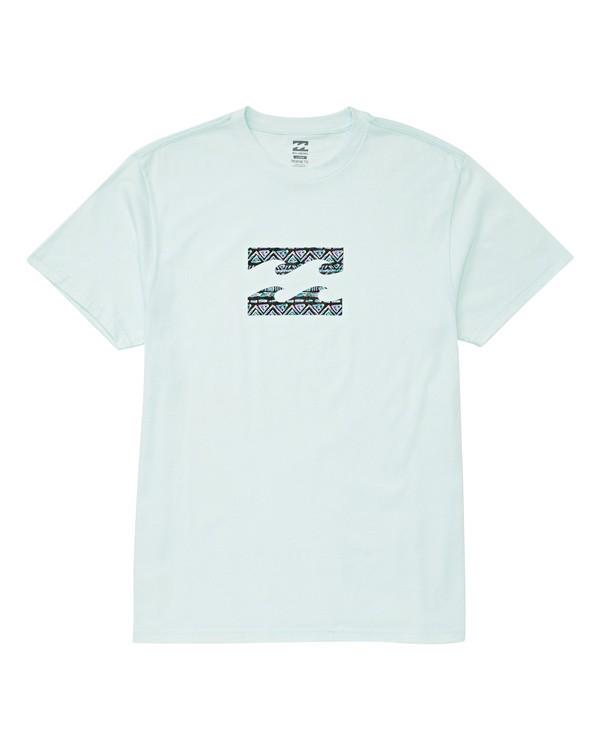 0 Team Wave T-Shirt Blue M404UBTE Billabong