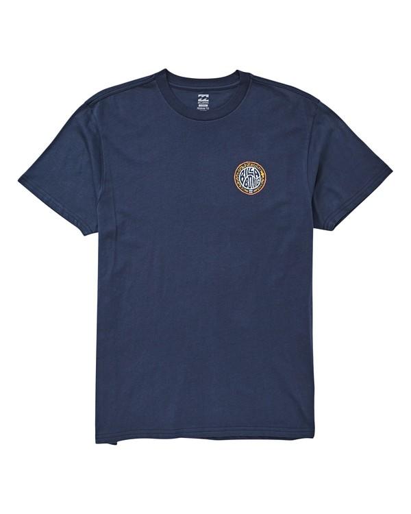 0 Tribe T-Shirt Blue M404UBTR Billabong