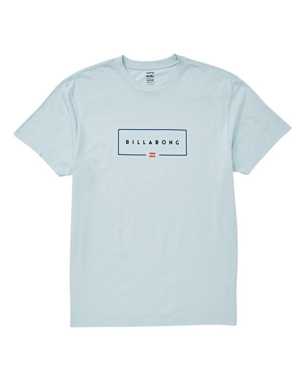 0 Union T-Shirt Blue M404UBUN Billabong