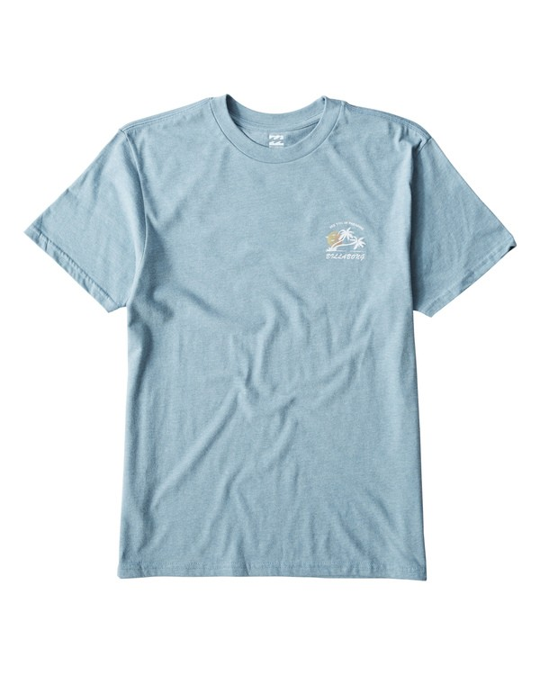 0 In Paradise T-Shirt Blue M404UIPE Billabong