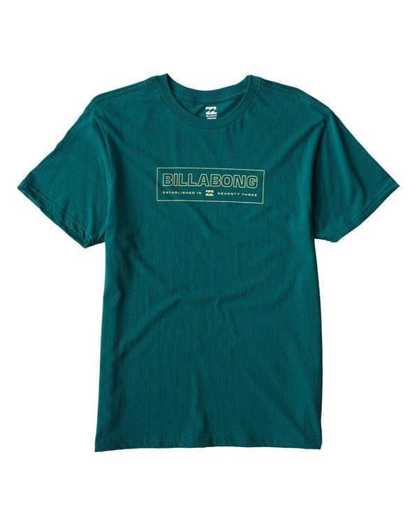 0 Key T-Shirt Green M404UKEE Billabong