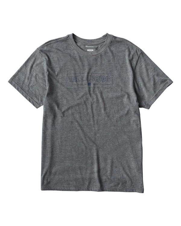 0 Key T-Shirt Grey M404UKEE Billabong