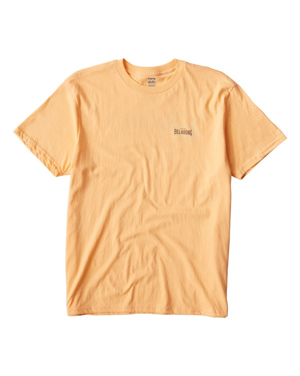 0 Original T-Shirt Orange M404UORE Billabong