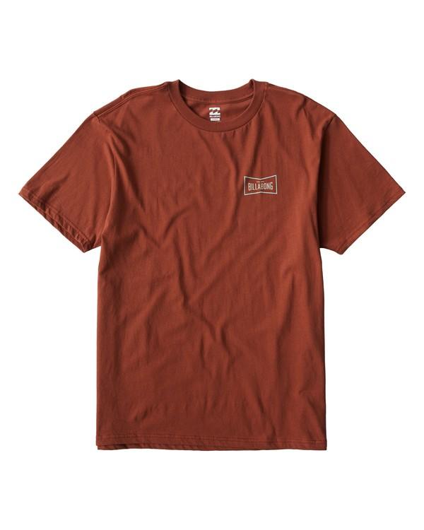 0 Original T-Shirt Red M404UORE Billabong