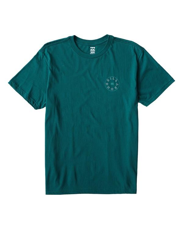 0 Roto T-Shirt Green M404UROE Billabong