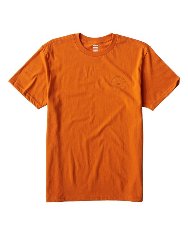 0 Roto T-Shirt Orange M404UROE Billabong