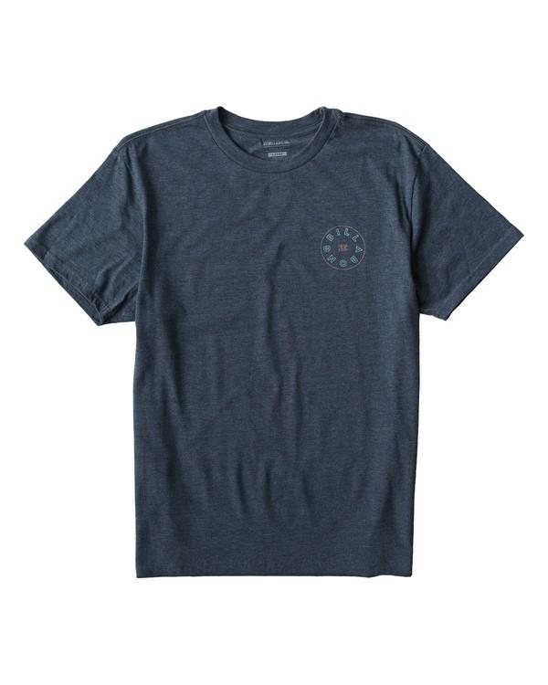 0 Roto T-Shirt Blue M404UROE Billabong