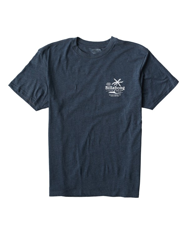 0 Surf Club T-Shirt Blue M404USUE Billabong