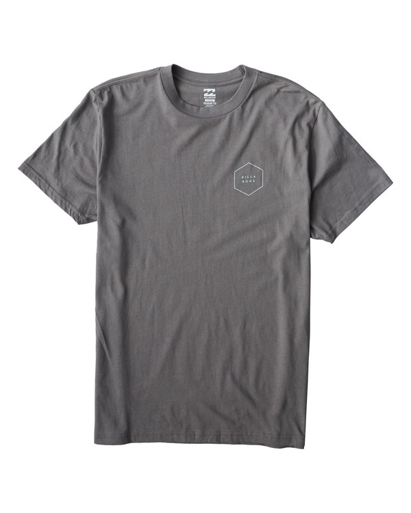 0 Access T-Shirt Grey M404VBAC Billabong