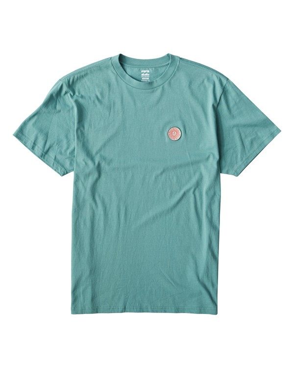 0 Dawn Patrol T-Shirt Blue M404VBDA Billabong