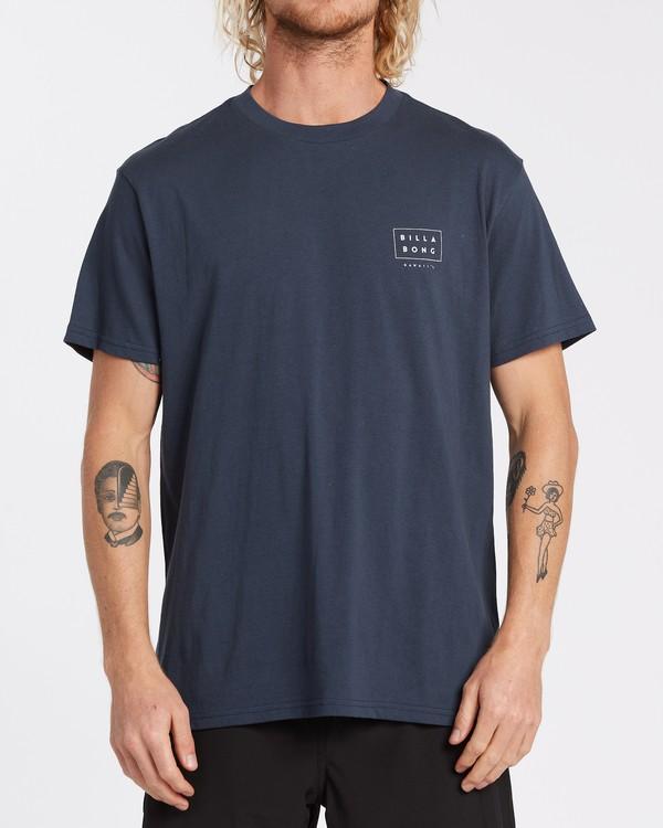 0 Diecut Hawaii T-Shirt Blue M404VBDE Billabong