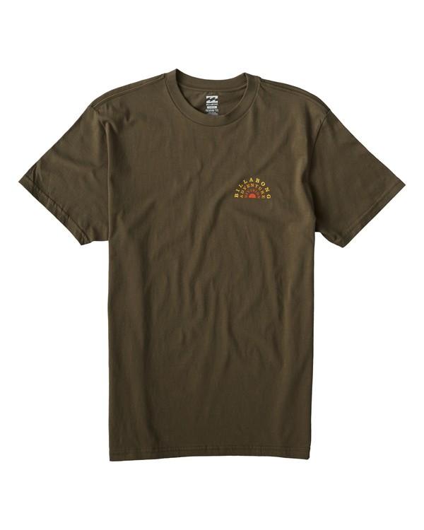 0 Del Sol T-Shirt Green M404VBDS Billabong