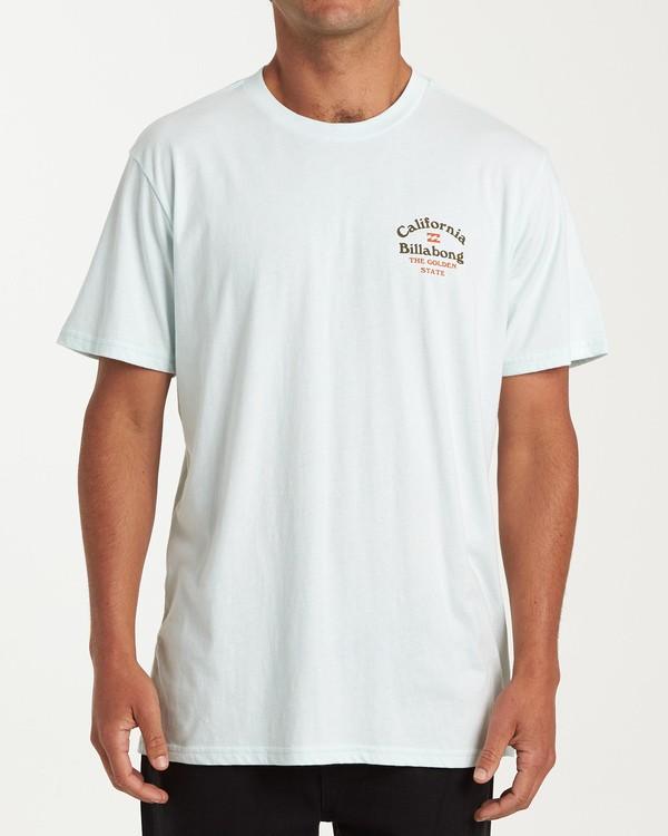 0 Forest T-Shirt Blue M404VBFO Billabong