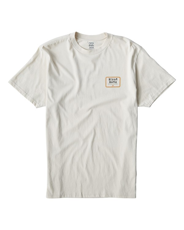 0 Lagoon T-Shirt White M404VBLA Billabong