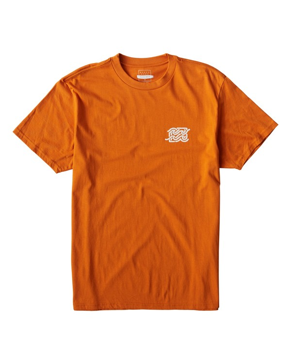 0 Ola T-Shirt Orange M404VBOL Billabong