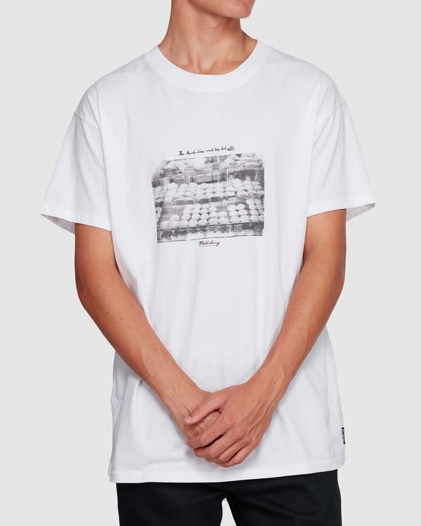 0 Duncan Pies T-Shirt White M404VBPE Billabong