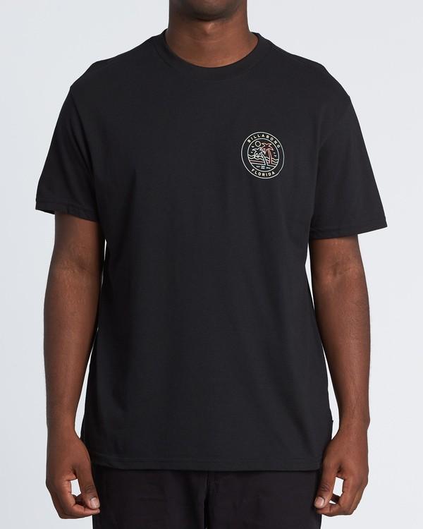 0 Rainbow Fl T-Shirt Black M404VBRA Billabong