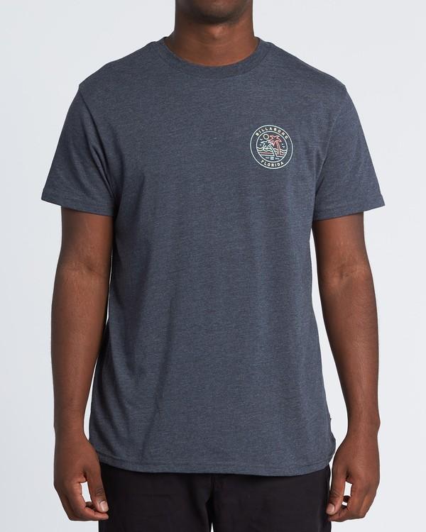0 Rainbow Fl T-Shirt Blue M404VBRA Billabong