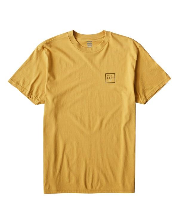 0 Stacked T-Shirt Grey M404VBSD Billabong
