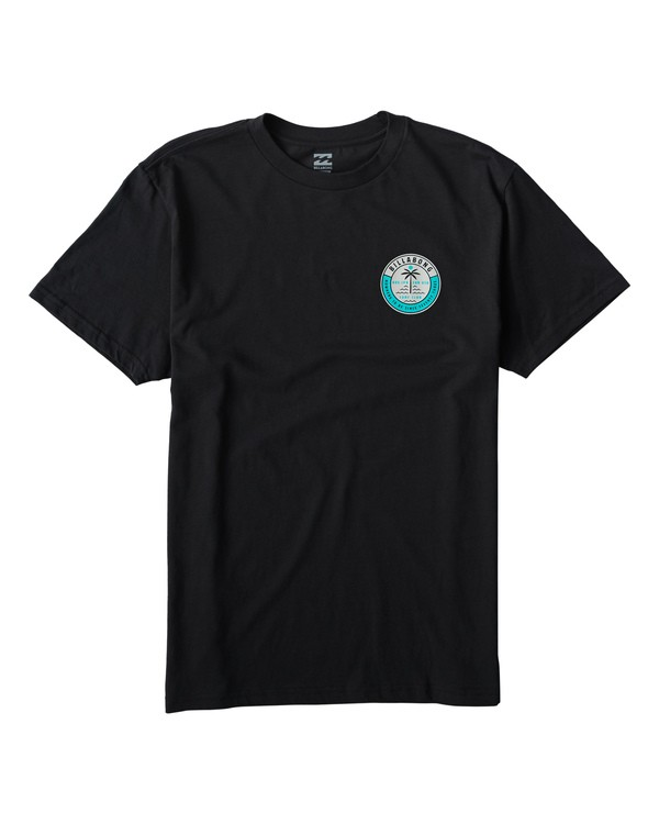 0 Seashore T-Shirt Black M404VBSE Billabong