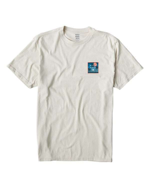 0 Stacked Fill T-Shirt White M404VBSF Billabong