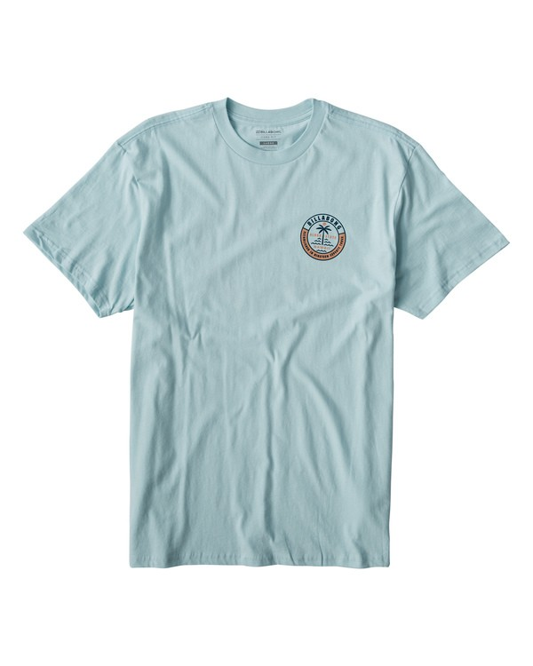 0 Seashore T-Shirt Blue M404VBSS Billabong