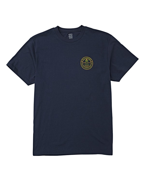 0 Seashore T-Shirt Blue M404VBSS Billabong