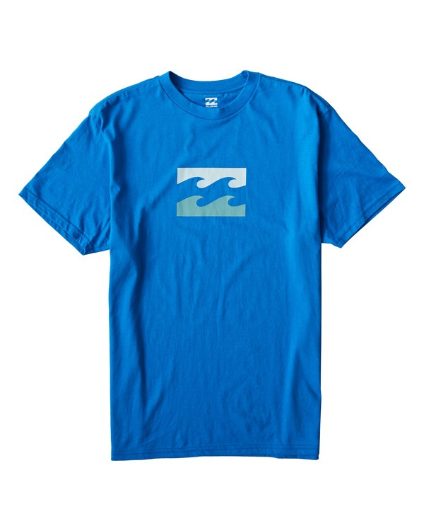 0 Teamwave T-Shirt Blue M404VBTW Billabong