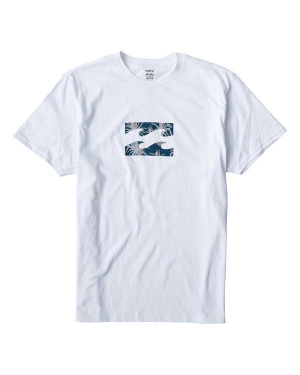 0 Teamwave T-Shirt White M404VBTW Billabong