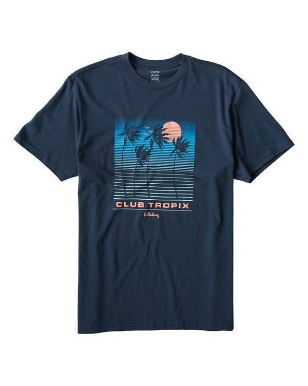 0 Tropix T-Shirt Blue M404VBTX Billabong