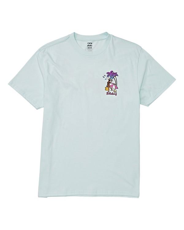 0 Vacay T-Shirt Blue M404VBVY Billabong