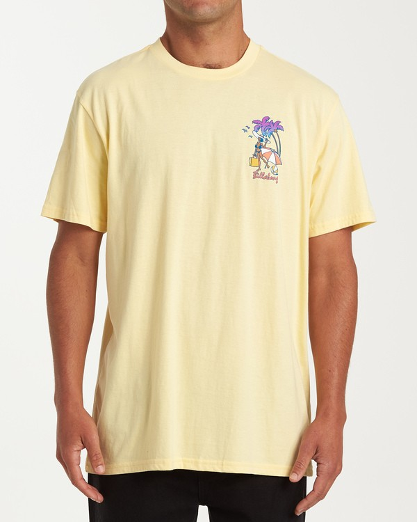 0 Vacay T-Shirt Yellow M404VBVY Billabong