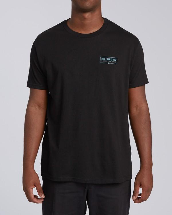 0 Tree Tunnel Short Sleeve T-Shirt Black M404VKTT Billabong