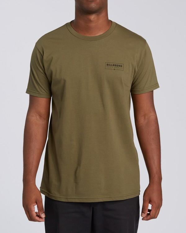 0 Tree Tunnel Short Sleeve T-Shirt Green M404VKTT Billabong