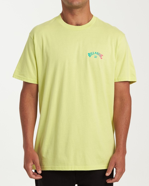 0 Arch Short Sleeve T-Shirt Green M404WBAR Billabong