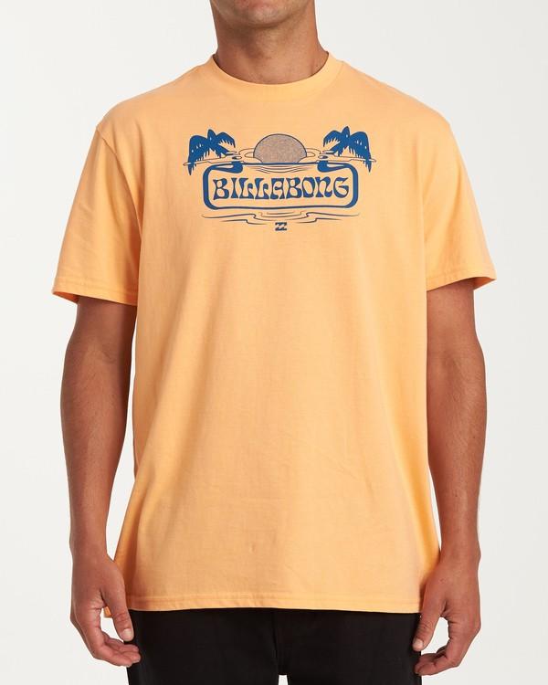 0 Breeze Short Sleeve T-Shirt Grey M404WBBR Billabong
