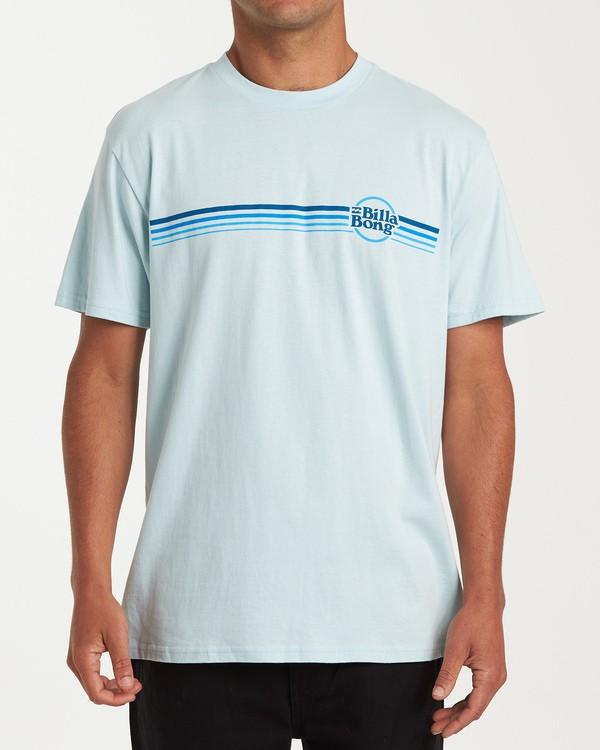 0 Cruise Stripe Short Sleeve T-Shirt Blue M404WBCS Billabong