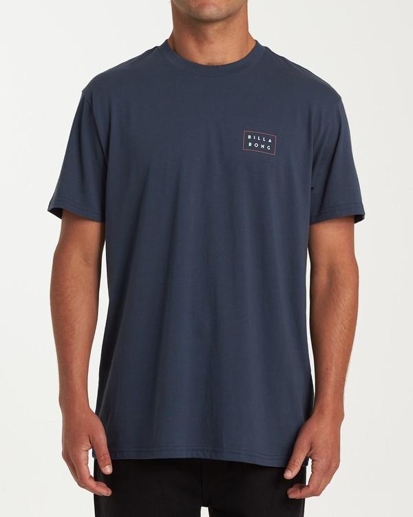 0 Diecut Short Sleeve T-Shirt Blue M404WBDC Billabong