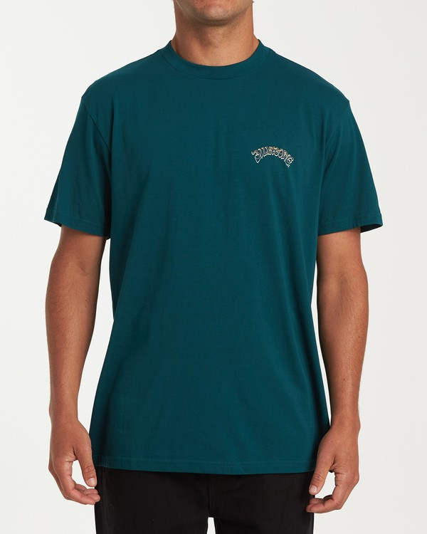 0 Grateful Short Sleeve T-Shirt Green M404WBGR Billabong