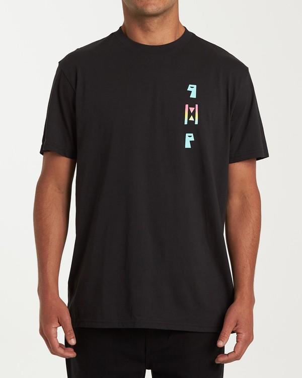 0 Waiting Room Short Sleeve T-Shirt Black M404WBHE Billabong