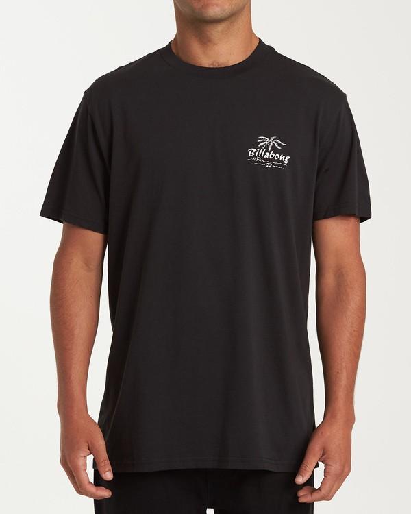 0 Club Short Sleeve T-Shirt Black M404WBPH Billabong