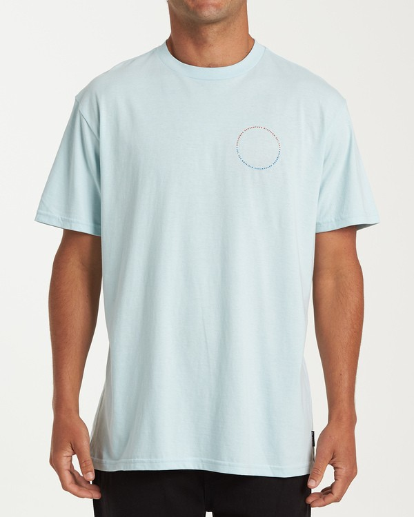 0 Sundown Short Sleeve T-Shirt Blue M404WBSU Billabong