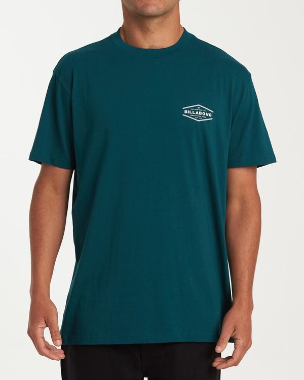 0 Vista Short Sleeve T-Shirt  M404WBVI Billabong