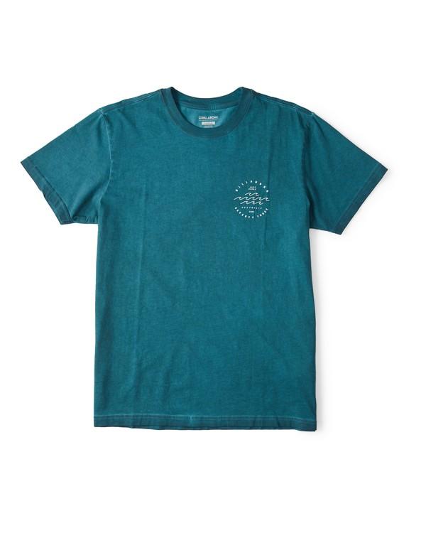 0 Wavy Davy Short Sleeve T-Shirt Green M404WBZE Billabong