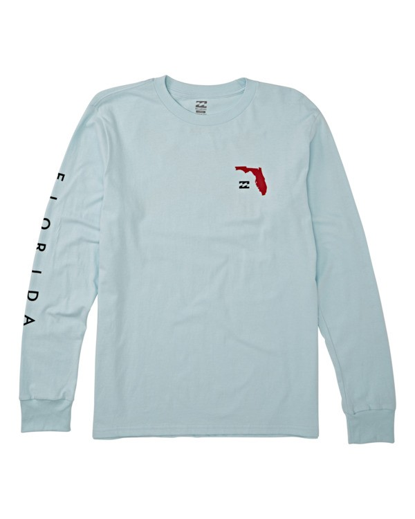0 Native Florida Long Sleeve T-Shirt Blue M4051BNF Billabong